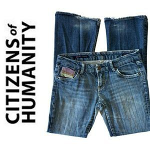 Citizens of Humanity size 28 Linda low rise jeans